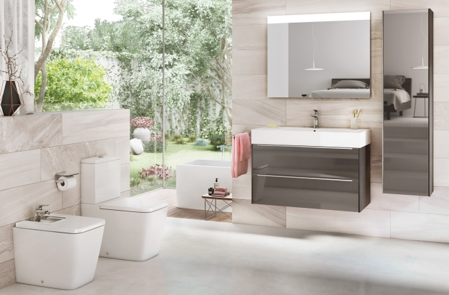 Inspira minimalistic collection by Roca